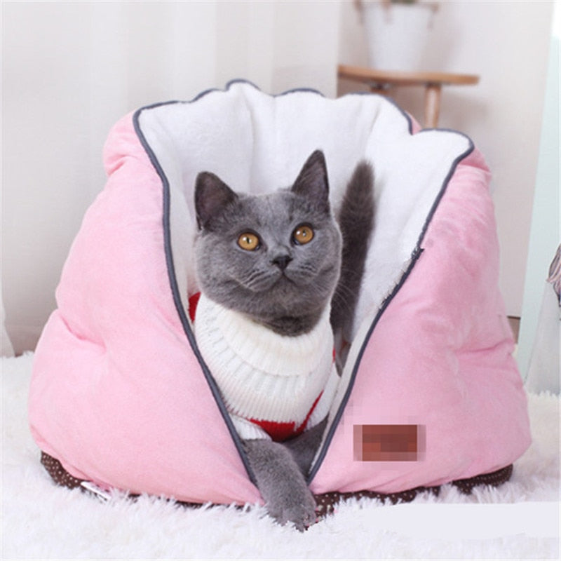 Best Cat Beds - Hearty Cute Pet Sleeping Bed - Exceenstores