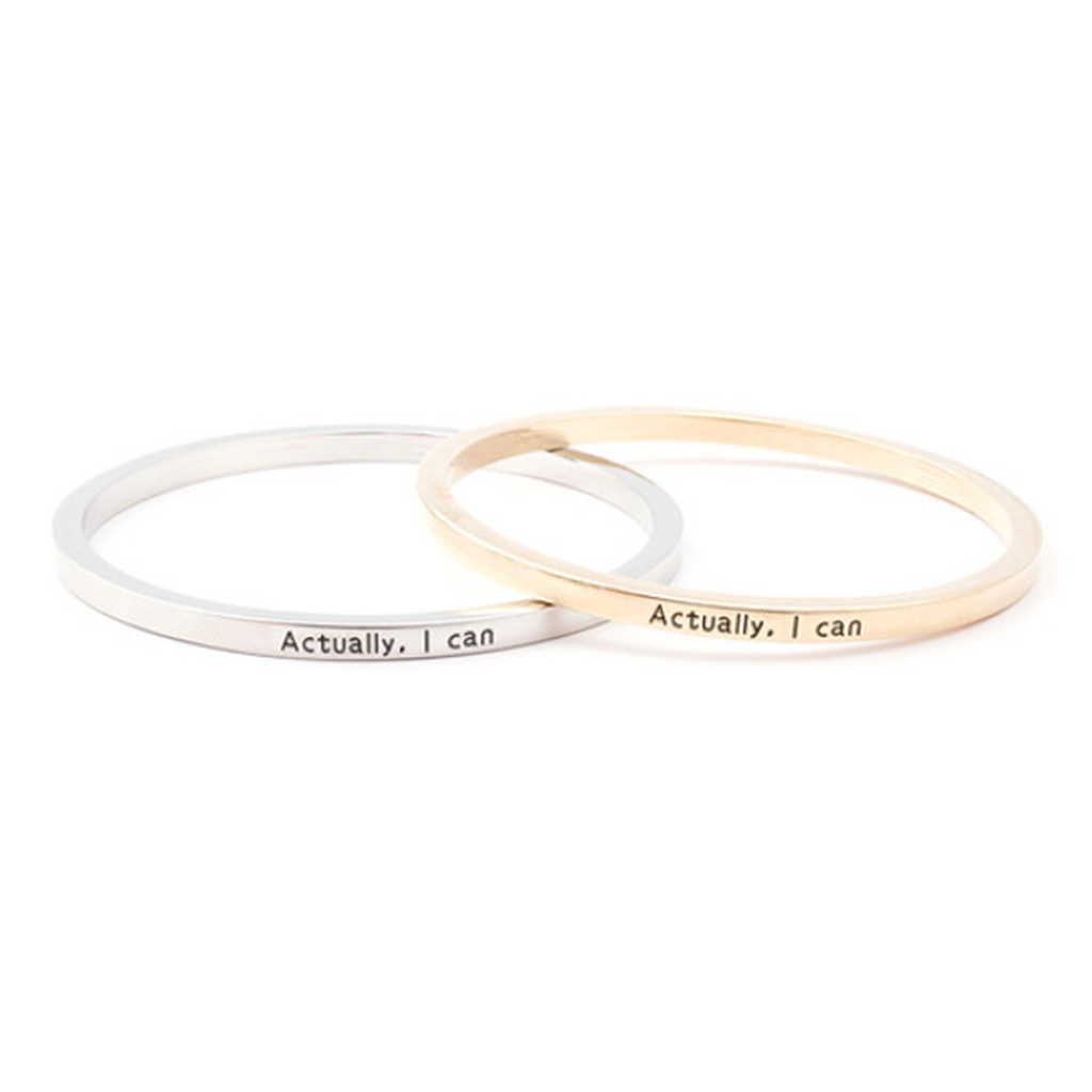 Actually I Can Bangle (Ships From USA)-Exceenstores