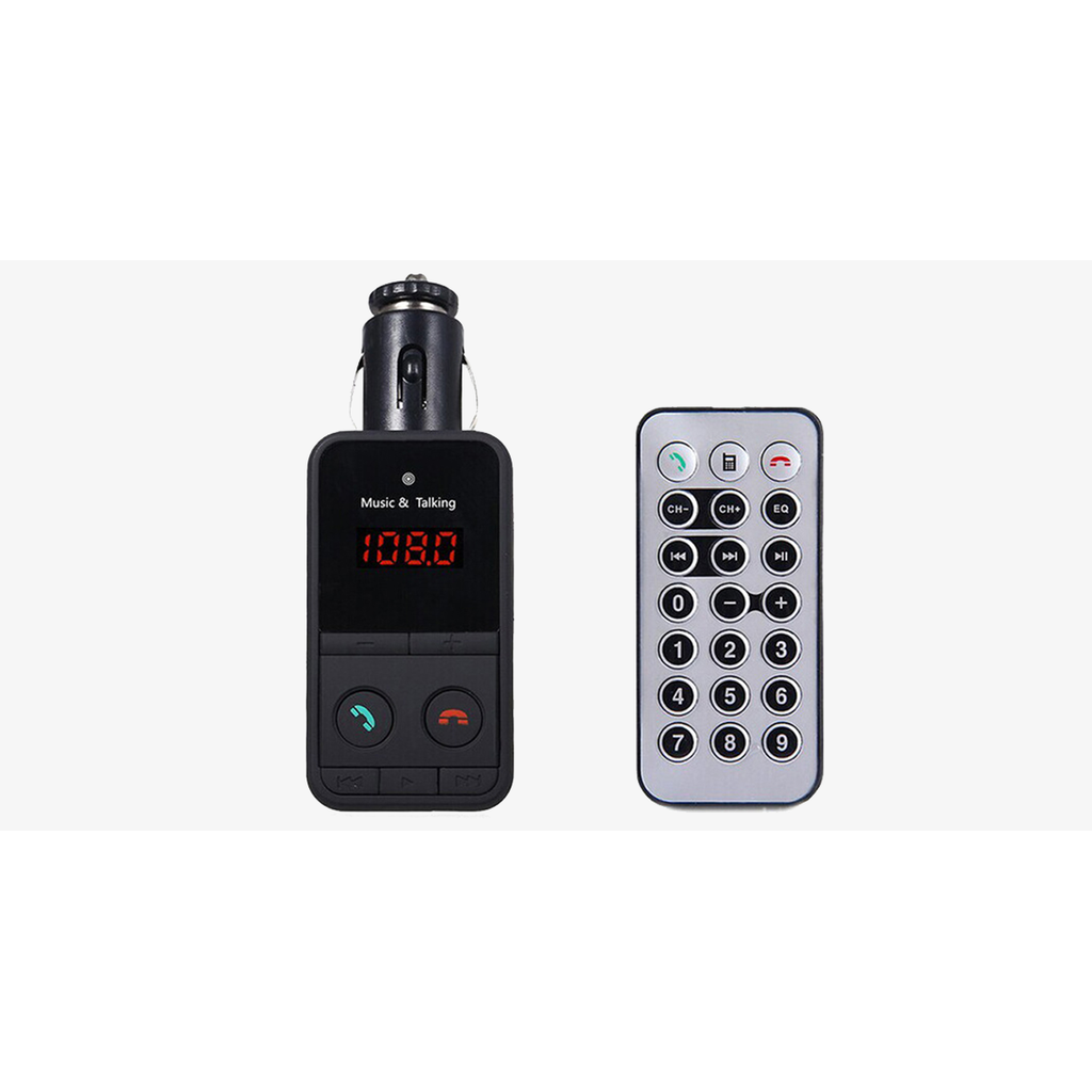 Hands-Free Car Kit FM Transmitter (Ships From USA)-Exceenstores