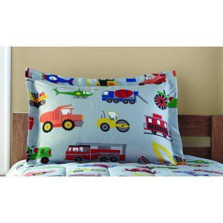 Kids' Transportation Coordinated Bed in a Bag - exceenstores