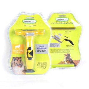 DeShedding Brush Tool for Dogs and Cats - [exceenstores]