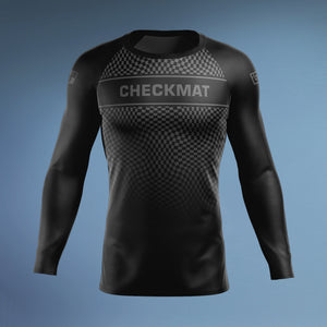 Checkmat Black Ranked Rashguard