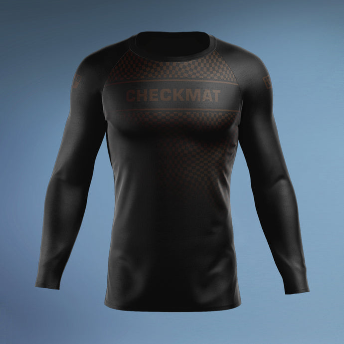 Checkmat Brown Ranked Rashguard