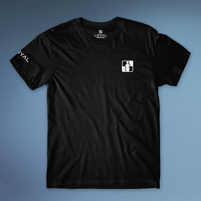Checkmat Chest Logo Tee Men