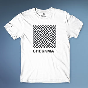 Checkmat Illusion Tee Womens