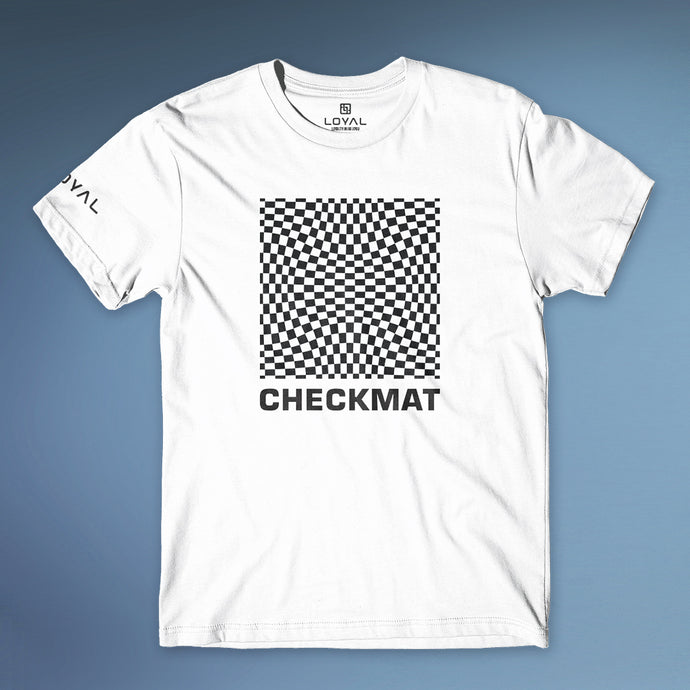Checkmat Illusion Tee Mens