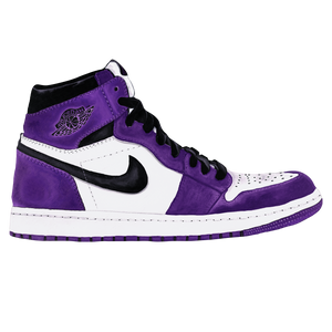 Jordan 1 Court Purple Wall Print