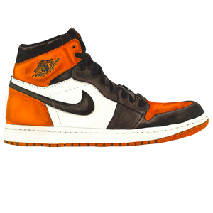 Jordan 1 Satin Shattered Backboard Wall Decal