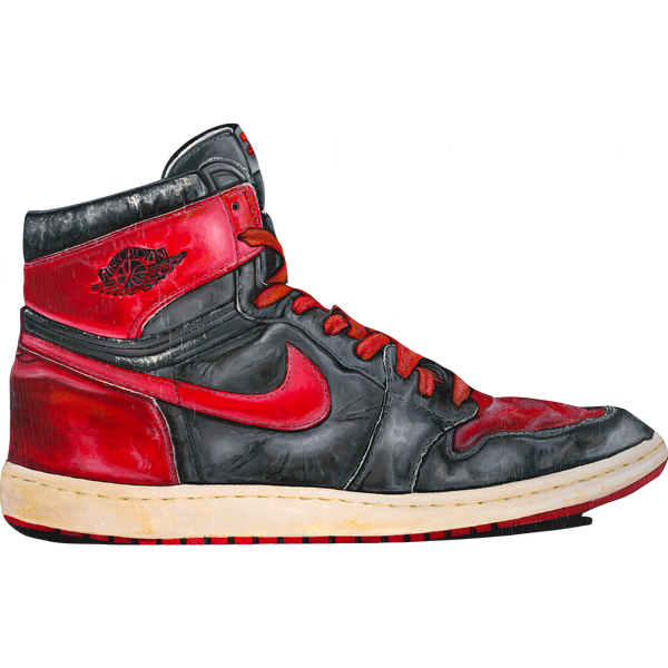 Jordan 1 Banned Wall Decal