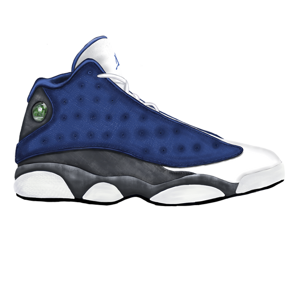 "Jordan 13 ""Flint"" Wall Decal"