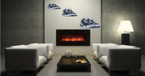 Jordan 3 Cement Wall Decal