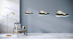 Jordan 11 Concord Wall Decal