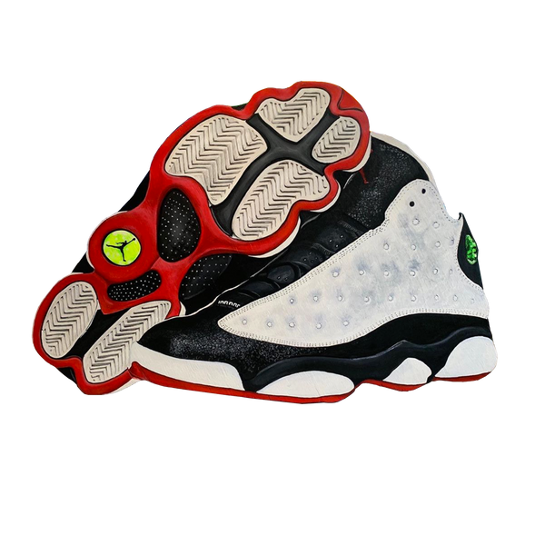 "Jordan 13 ""He Got Game"" Wall Decal"