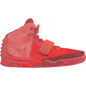 Yeezy Red Octobers LIT