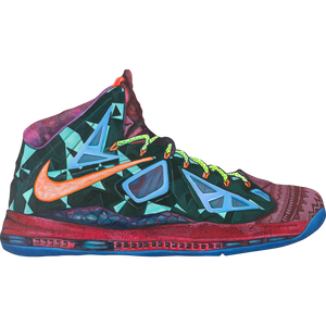 LeBron X What the Wall Print
