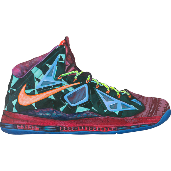 LeBron X What the Wall Decal
