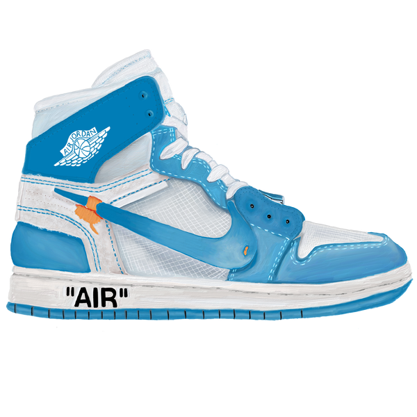UNC Off-White LIT