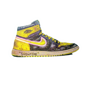 DRIPS Jordan 1 Banned Lakers LIL'KICKS