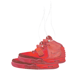 Yeezy Red October Car AirFreshener 2 Pack