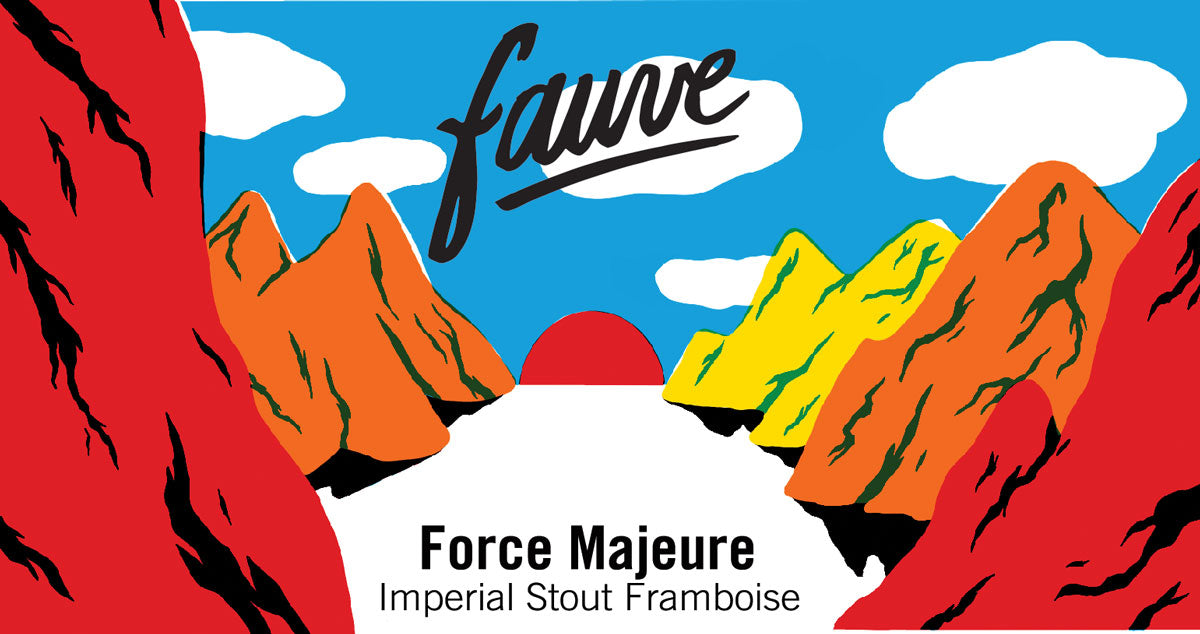 Fauve Craft Bière_Force Majeure_Imperial Stout Framboise