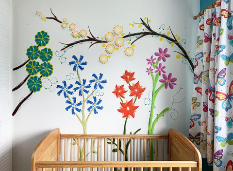 Wall Inclusive | Flower Mural