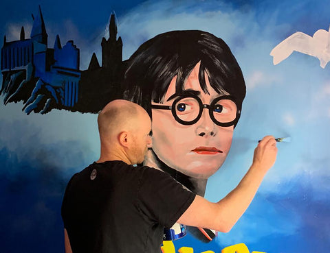 Wall Inclusive | Harry Potter Mural | Behind The Scenes