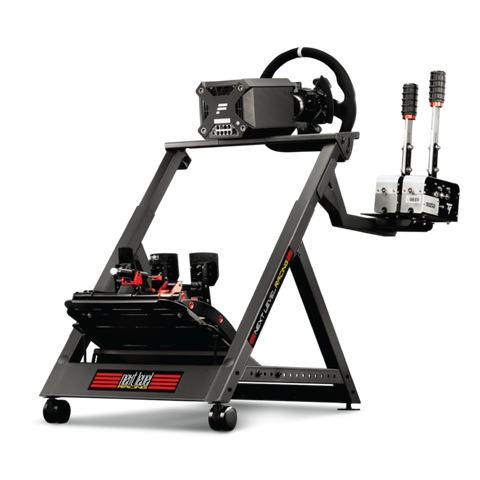 next level racing wheel stand DD with electronics added