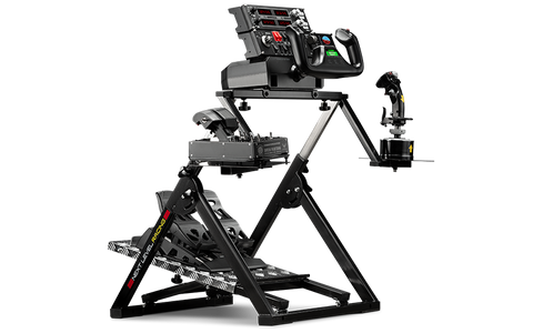 next level racing flight stand with controls