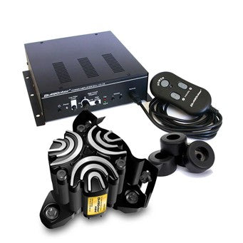 buttkicker simulation kit with amp and remote control