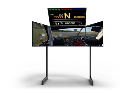 next level racing quad monitor stand