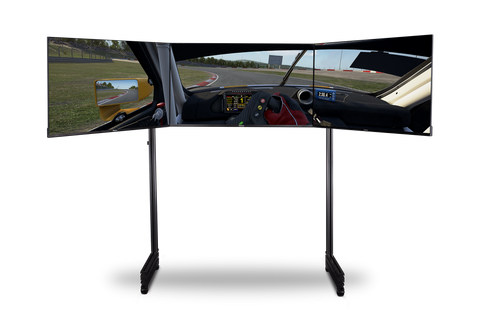 next level racing elite series triple monitor stand and monitors