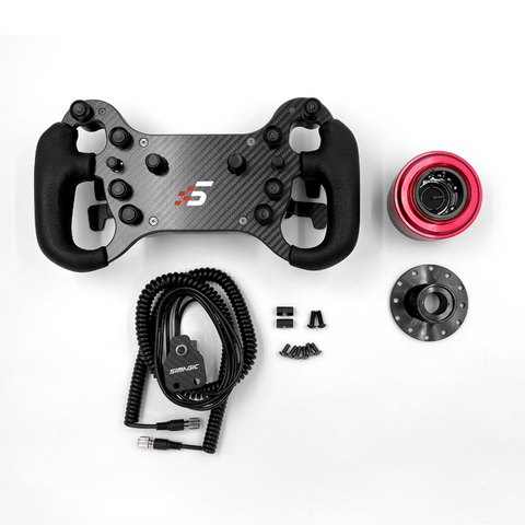 simagic GT4-C wired wheel with accessories