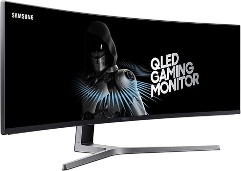 "Samsung 49"" CHG90 Super Ultra-wide Curved QLED Monitor"