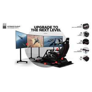 Next Level Racing GTtrack Flight Simulator Cockpit