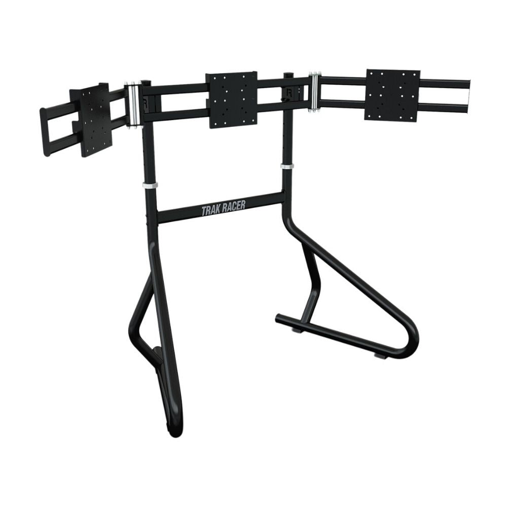 Trak Racer Triple Monitor Floor Stand (Suits 35 To 45 Inch Monitors/TVs)