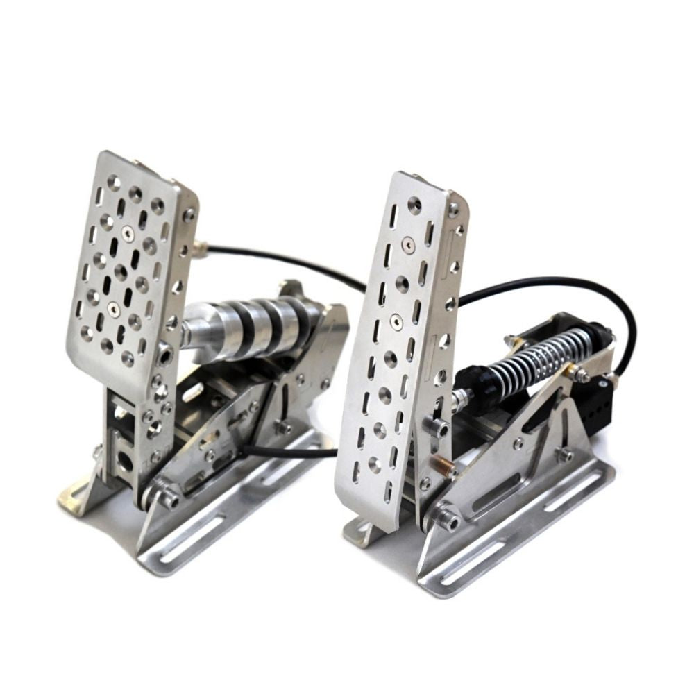 Meca Cup1 Simulator Racing Pedals - 2 Pedal Set