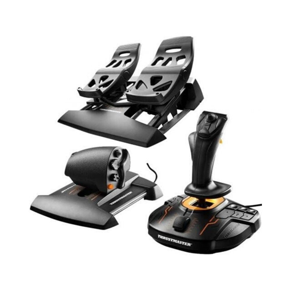 Thrustmaster T.16000M FCS Flight Pack: Joystick, Throttle and Rudder Pedals for PC