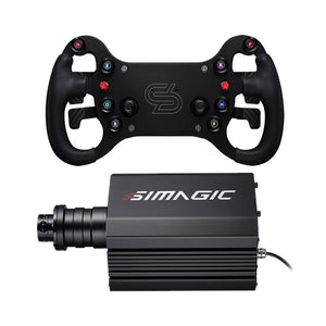 Simagic M10 Direct Drive Wheelbase + GT4 Racing Wheel