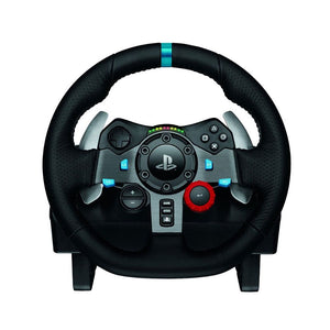 Logitech G29 Driving Force Racing Wheel, Pedals and Shifter Bundle for PS3, PS4 & PC