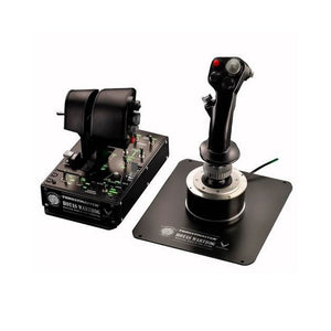 Thrustmaster HOTAS Warthog + T.Flight Rudder Pedals for PC