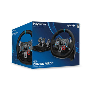 Logitech G29 Driving Force Racing Wheel and Pedals for PS3, PS4 & PC
