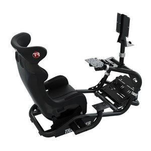 Trak Racer TR8 Mach 3 Racing Simulator with Monitor Stand