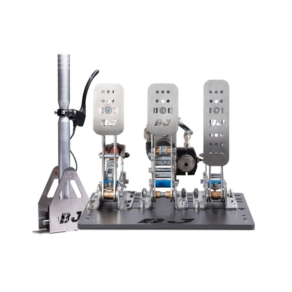 BJ SimRacing GT Hydraulic Racing Pedals + Sequential Shifter 3.0