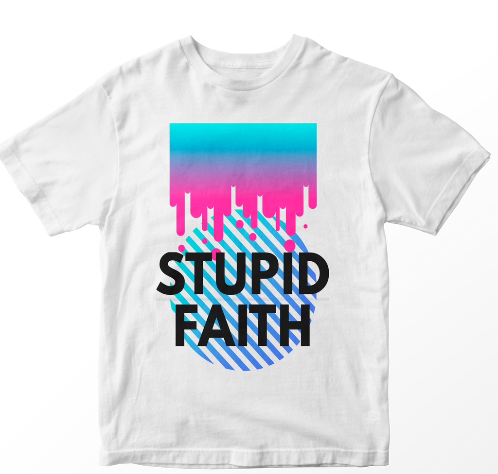 Stupid Faith Tee White
