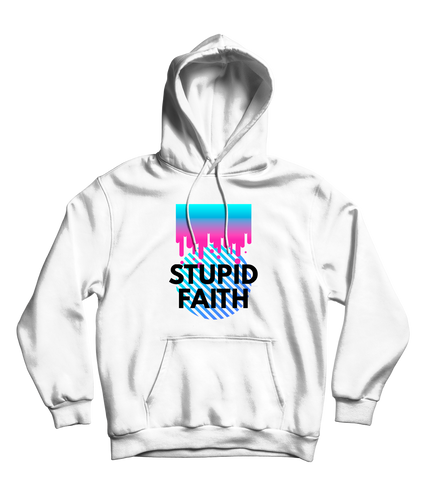 Stupid Faith Hoodie White