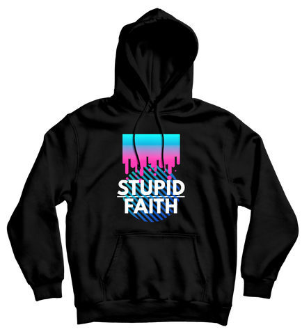 Stupid Faith Hoodie Black