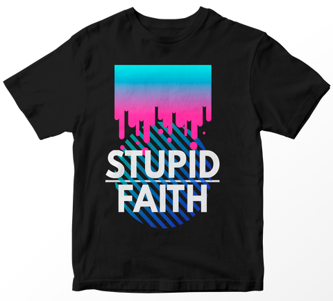 Stupid Faith Tee Black