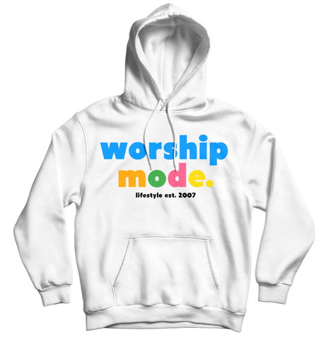 Worship Mode LifeStyle Hoodie White