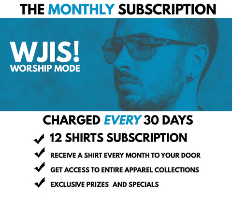 WJIS Monthly Worship Mode Subscription