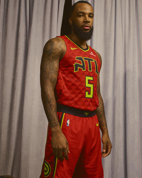 Atlanta Hawks Nike NBA Statement Jersey